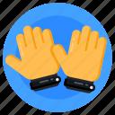 mitts, gloves, sports gloves, gauntlet, gaming gloves