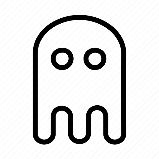 character, computer, entertainment, fun, game, ghost, pacman icon