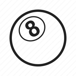 ball, balls, billiard, eleven, pool, snooker, white icon