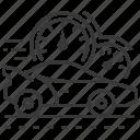car, racing, road, speedometers
