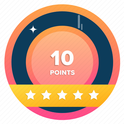 award, badge, badges, challenges, goal, point, points icon