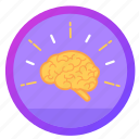 award, badge, brain, challenge, goal, social