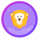 award, badge, challenge, goal, lion, social