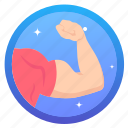 award, badge, challenge, goal, muscle, muscle1, social