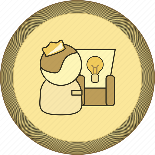 best, boss, chief, gamification, gold, leader, medal icon