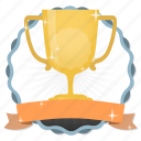 achievement, acknowledge, acknowledgement, award, badge, best, challenge, conquest, cup, first, game, gamification, gold, gold cup, golden, hero, member, membership, praise, premium, prize, quality, rank, ranking, reward, star, subscription, trophy, victory, win, winner icon