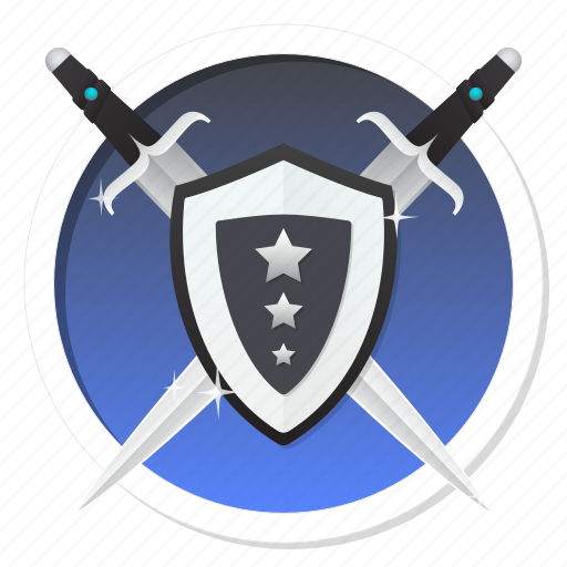 antivirus, army, code, guard, guardian, hack, hacker, password, personal, privacy, private, protect, protection, safe, safeguard, secure, secured, security, shield, swords, virus icon