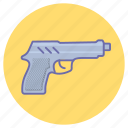 game, gaming, gun, pistol, weapon icon