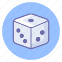 dice, gadget, game, gaming, ludo, play icon