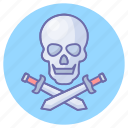 blade, game, knife, pirates, roger, skull, sword icon