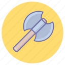 axe, fantasy, game, legend, viking, weapons icon