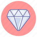 diamond, game, jewelry, value icon