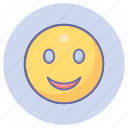 emoticons, game, gaming, happy, smiley icon