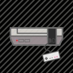 console, controller, gaming, nes, nintendo, nintendo entertainment system, retro icon