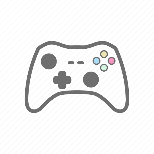 console, controller, gaming, videogame, xbox, xbox 360, xbox one icon