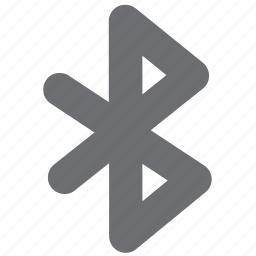 bluetooth, connection, gray, internet, wireless icon