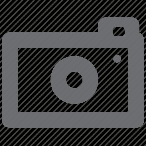 camera, gray, image, photo, picture icon