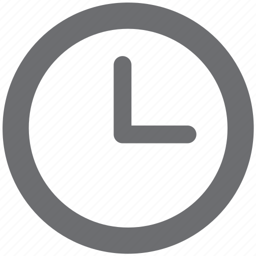 clock, gray, time, time stamp icon