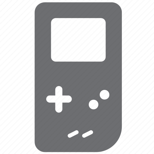 gameboy, gray, handheld, mobile, video games icon