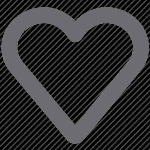 gray, heart, hearthollow, love, unfavorite, unlike icon