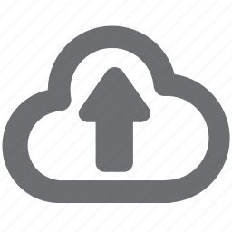 cloud, download, gray, guardar, save, savetocloud, upload icon