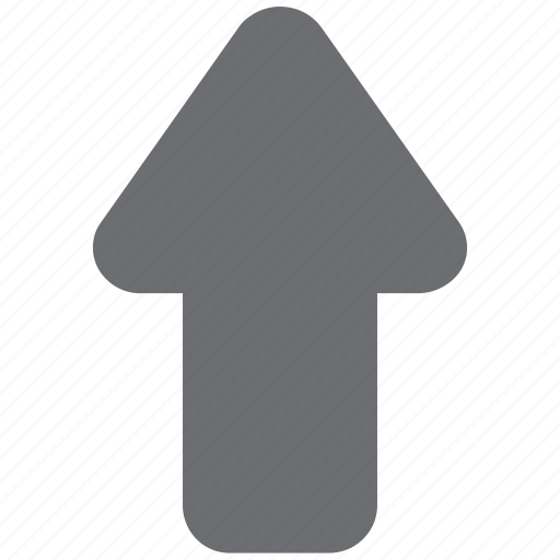 arrow, gray, scroll, scroll up, up, uparrow icon