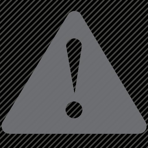 error, gray, warning icon