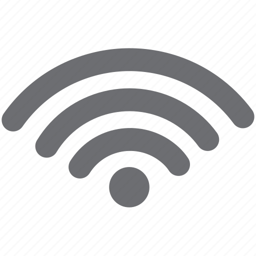 connection, gray, internet, wifi icon