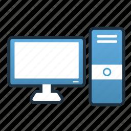 computer, desktop, digital, gaming gear, pc, technology icon