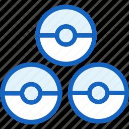 gaming, poke, pokeballs, pokemon icon