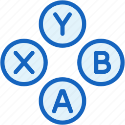 buttons, controller, game, gaming, joystick icon
