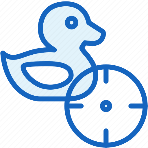 duck, gaming, hunt, shoot icon