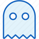 gaming, ghost, pacman icon