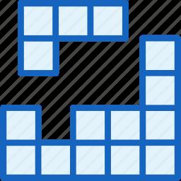 arcade, game, gaming, retro, tetris icon