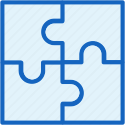 gaming, puzzle icon