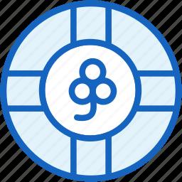 clover, gaming, luck, lucky icon
