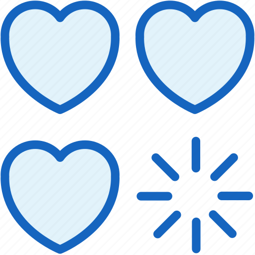 damage, game, gaming, hearts, lives icon