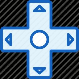 controller, gaming, move icon