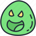 enemy, gaming, minon, slime icon
