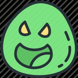 enemy, gaming, minon, slime icon