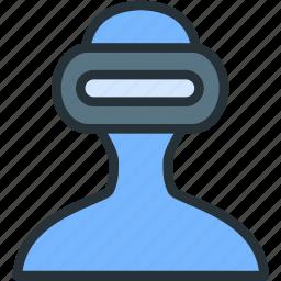 ar, gaming, reality, virtual, vr icon