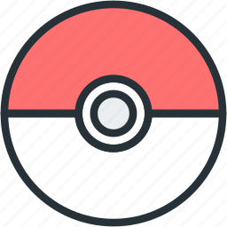 gaming, pokeball, pokemon icon