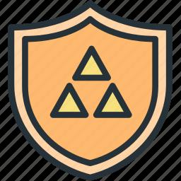 gaming, shield, triforce, zelda icon