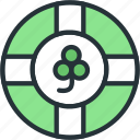 clover, gaming, luck, lucky icon