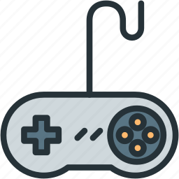 controller, gaming, joystick, retro icon