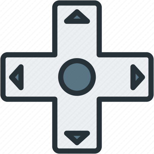 controller, gaming, move icon