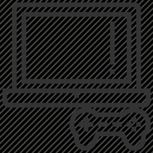 computer, game, gaming, handheld, joystick, notebook, video icon