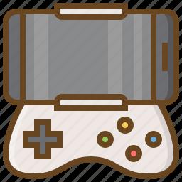 computer, game, gaming, handheld, joystick, video icon