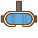 computer, game, gaming, handheld, video, vr icon