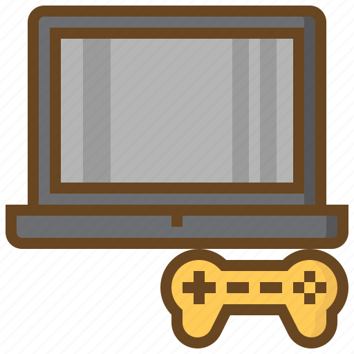 computer, game, gaming, handheld, joystick, notebook, video icon
